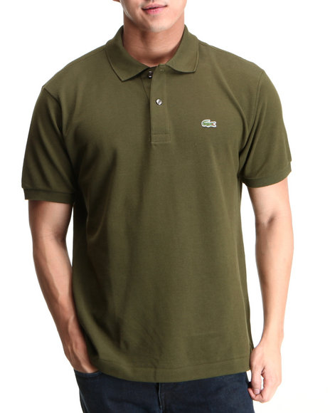 Lacoste Olive S/S Classic Pique Polo