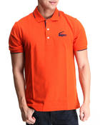 Men - S/S Retro Croc Semi Fancy Pique Polo