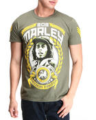 Men - Bob Marley Freedom Fighter Tee