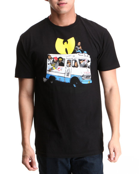 Wu-Tang Limited Men Black Ice Cream T-Shirt