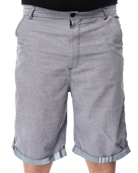 Enyce Men Black Scorpio Chambray Short (B&T)