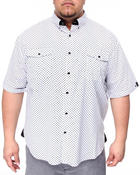 Shirts - Polka dot Short Sleeve Woven Shirt