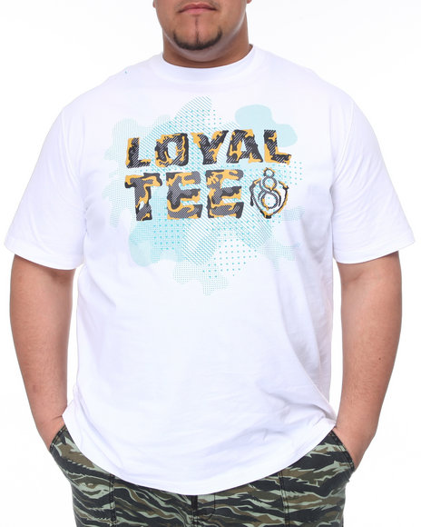 Eight 732 Men White Loyal Tee (B&T)
