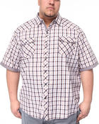 Shirts - Checks Short Sleeve Woven Shirt