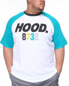 Men - Hood Raglan Tee (B&T)