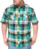 Men - Plaid Woven Shirt (B&T)