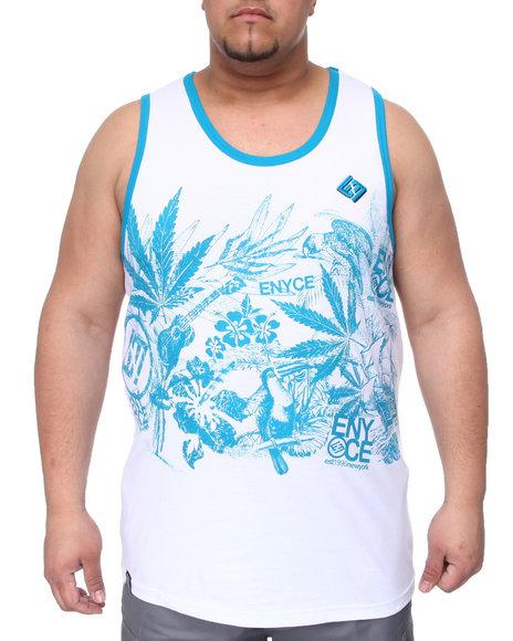 Enyce Men Blue,White Endless Summer Tank (B&T)