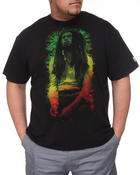 Shirts - Rasta Leaves Tee (b &t)