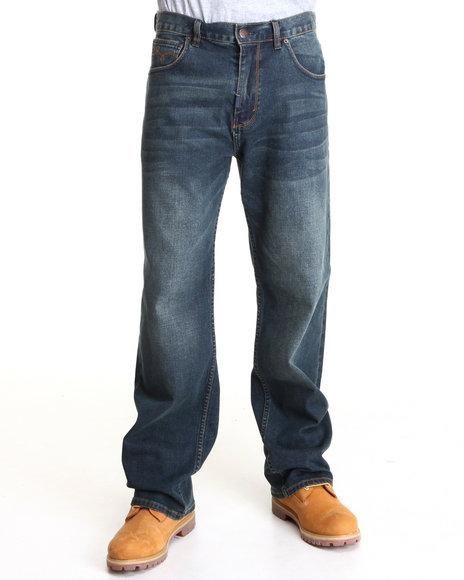 LRG Men Medium Wash Core Collection C47 Denim Jeans