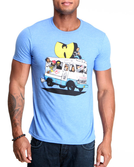 Wu-Tang Limited Men Blue Ice Cream T-Shirt