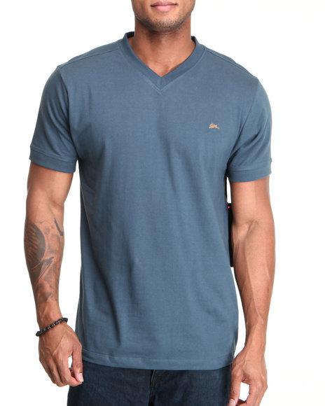 A Tiziano Men Dark Blue Kool T-Shirt