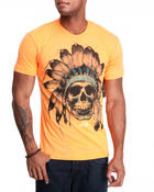 Men - Chief Skull Neon Tee