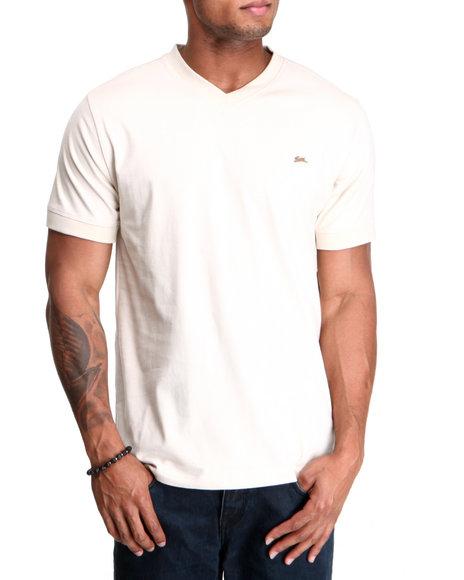 A Tiziano Men Beige Kool T-Shirt
