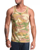 Men - Basic Camo Tank top