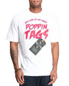 Men - Poppin Tags Tee