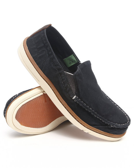 Timberland - Men Black Earthkeepers Hookset Handcrafted Slip On Shoe