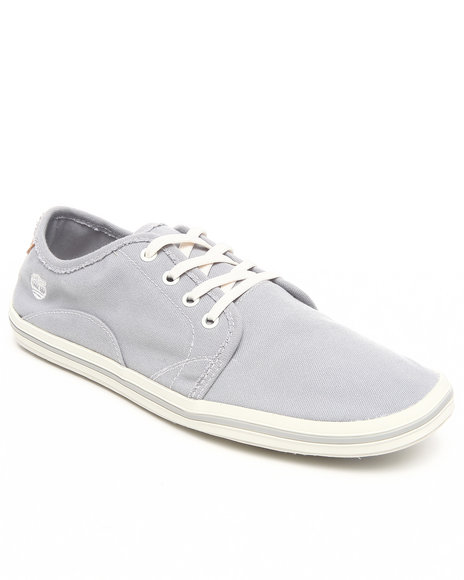 Timberland Men Grey Earthkeepers Casco Bay Canvas Oxford Sneakers