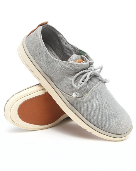 Timberland - Men Grey Earthkeepers Hookset Handcrafted Fabric Oxford Sneakers