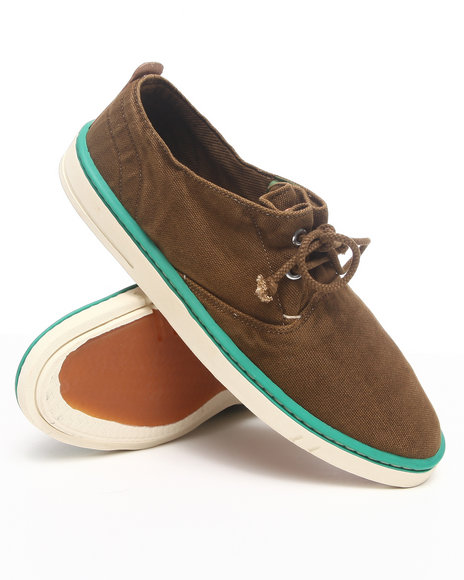 Timberland - Men Brown Earthkeepers Hookset Handcrafted Fabric Oxford Sneakers