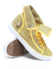 Apple Bottoms - Nialla Striped Canvas Sneaker