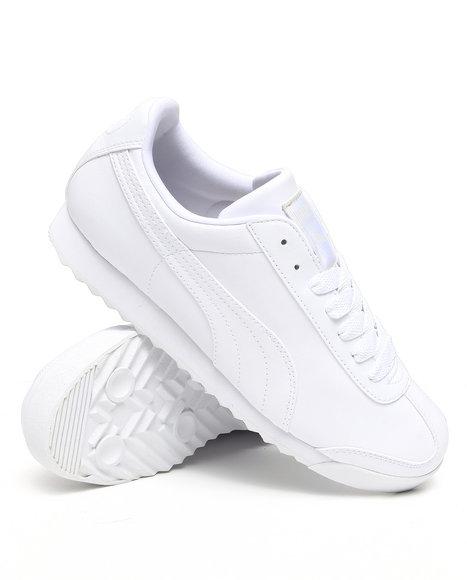 Puma Men White Roma Basic Sneakers