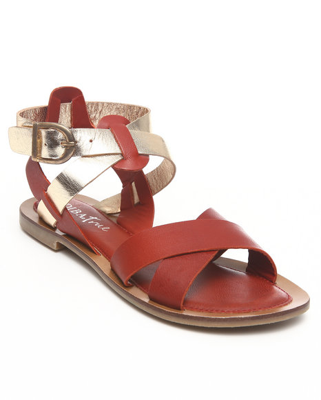Diba True - Pat Trico Leather Sandal w/straps