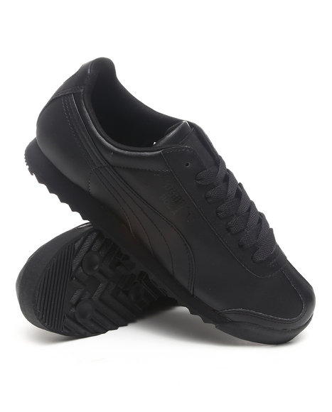 Puma - Men Black Roma Basic Sneakers