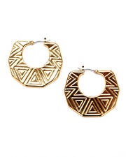Vince Camuto - Tribal Hoop Earrings