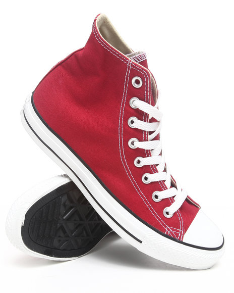 Converse Men Red Chuck Taylor Hi Sneakers