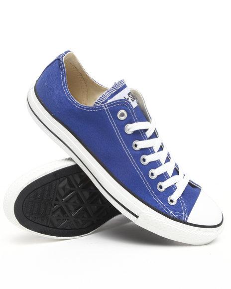 Converse Men Blue Chuck Taylor Ox Blue Sneakers