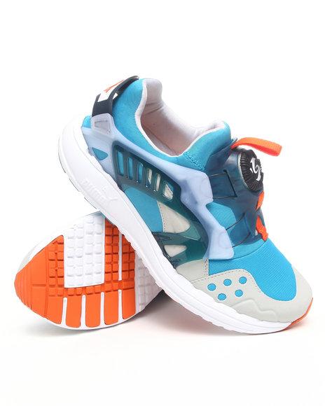 Puma Men Multi,White Future Disc Blaze Lite Sneakers