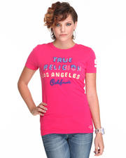 Tops - Novelty Applique Print Graphic Tee