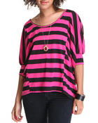 Fashion Lab - Oversized Stripe Tee