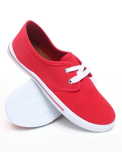 Apple Bottoms Women Coral,Orange,Red Laveda Casual Canvas Sneaker