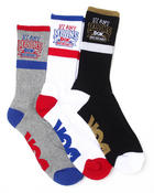 DGK - By Any Means 3-Pack Crew Socks