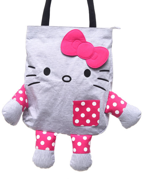 hello kitty jersey tote (kids)