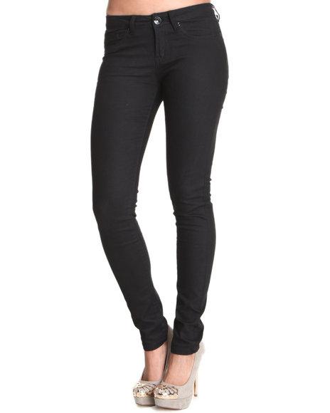 Basic Essentials - Women Black Basic Skinny Jean With Stretch