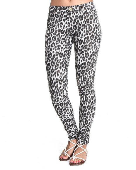 Apple Bottoms Women Animal Print Hot Cheetah Print Legging
