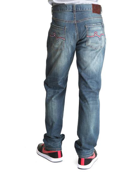 LRG Men Medium Wash Most Lifted T/S Jean