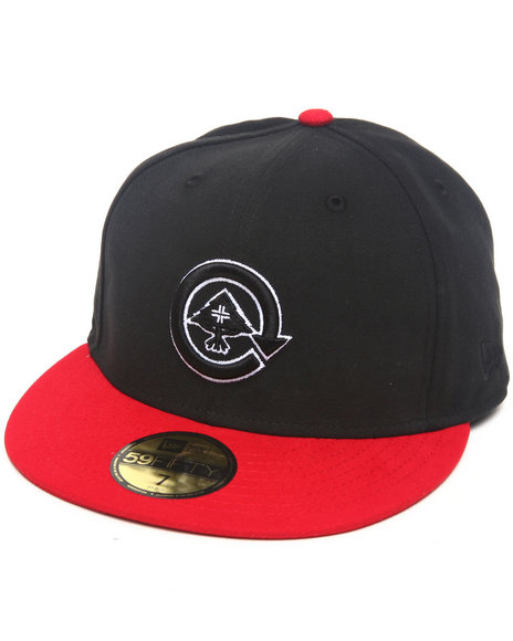 LRG Men Black,Red Core Collection Two New - Era Fitted Hat