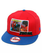 Men - Spider-man Marvel Comic Panel Snap 2 snapback hat