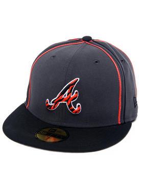 New Era - Atlanta Braves Tiger Print Custom 5950 fitted hat (Drjays.com Exclusive)