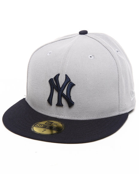 New Era - Men Grey New York Yankees 1912 Road Fitted 5950 Hat