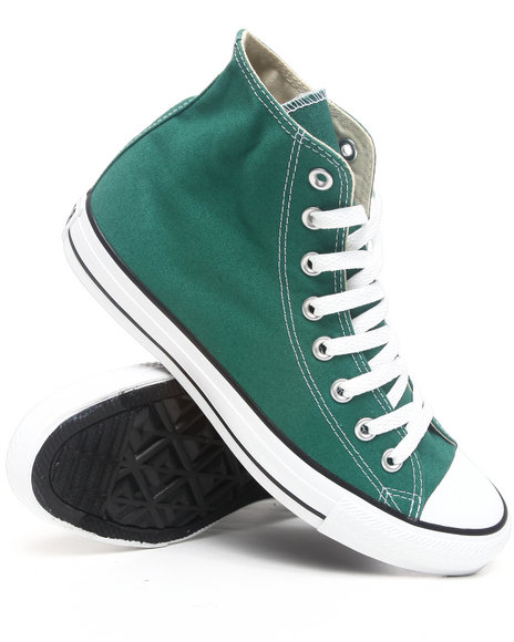 Converse Men Forest Green Chuck Taylor All Star Extreme Color Sneakers