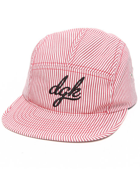 Dgk Men Engineer 5-Panel Cap Red