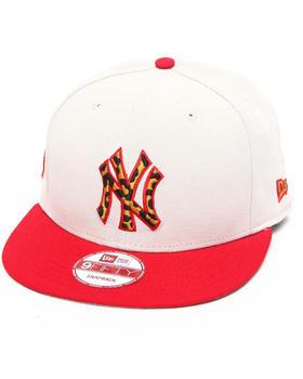 New Era - New York Yankees White/ Leopard Print Logo Custom snapback hat (Drjays.com Exclusive)