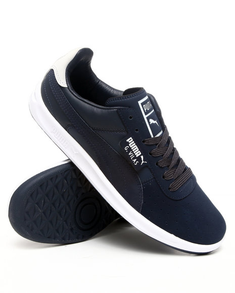 Puma Men Navy G Vilas 2 Sneakers