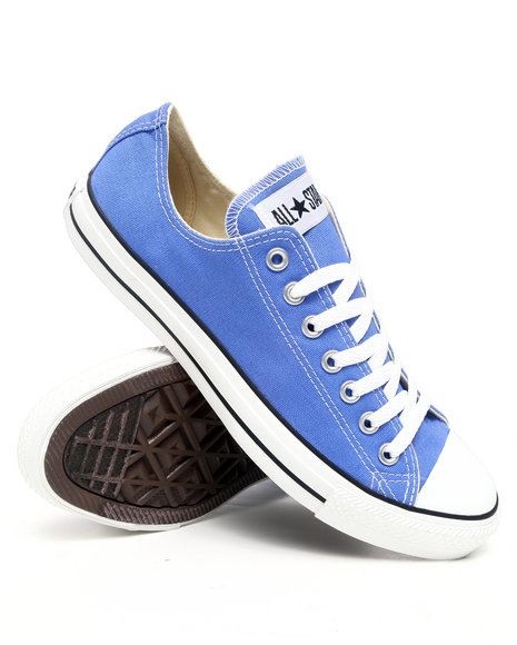 Converse Men Blue Chuck Taylor Ox Sneakers