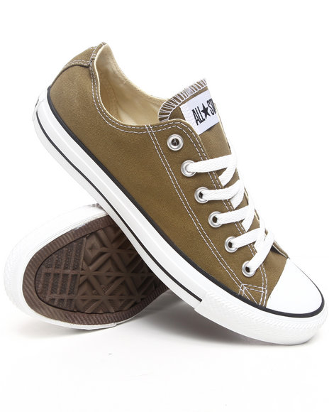 Converse Men Olive Chuck Taylor All Star Ox Sneakers