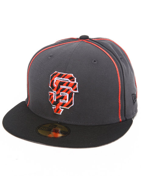 New Era - San Francisco Tiger Print Custom 5950 fitted hat (Drjays.com Exclusive)